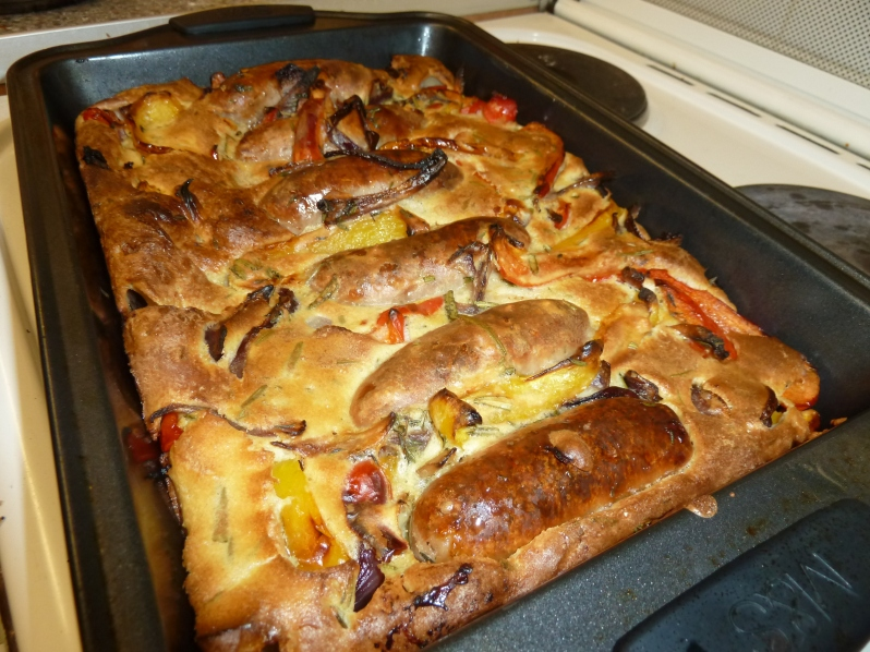 Pheebz Eatz Crazy Toad in the Hole!