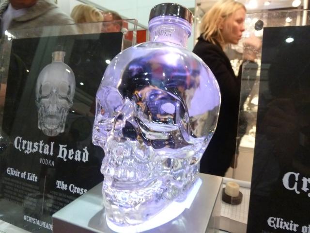 Skull booze