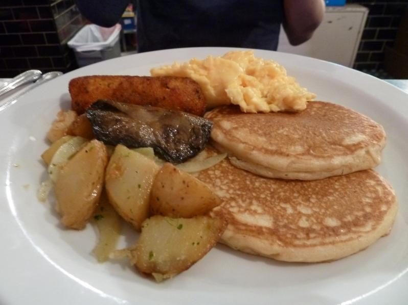 American veggie breakfast
