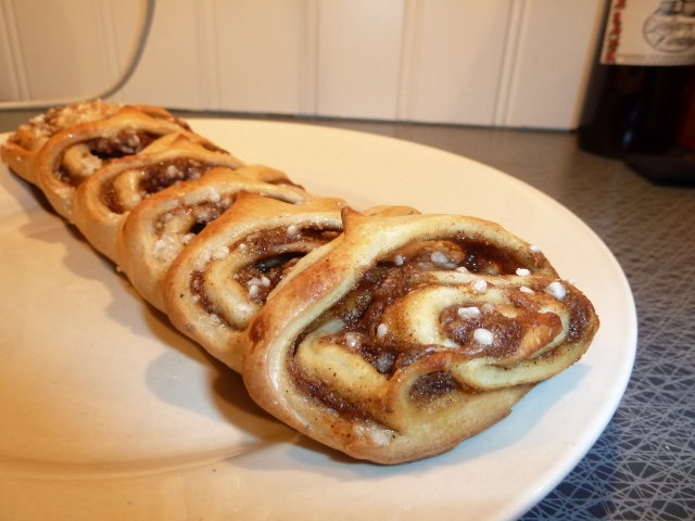 Behold the cinnamon-y goodness!