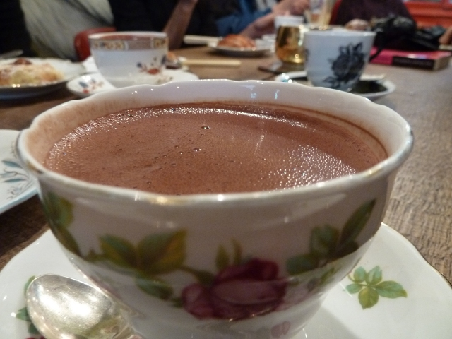Amazing hot chocolate!