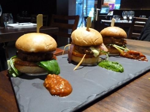 Bhangra burgers