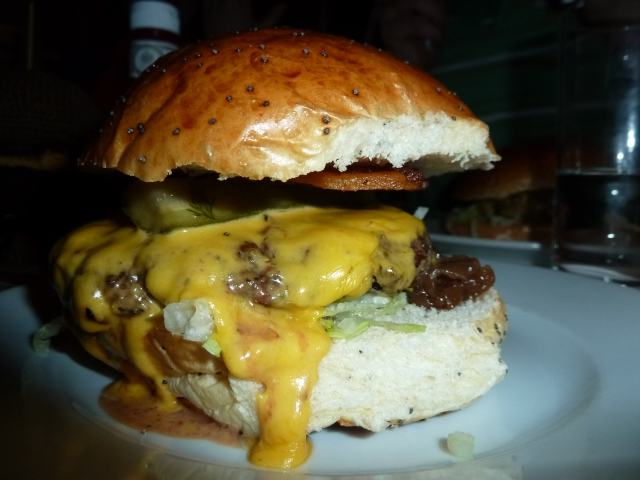 The Forty Burger - Now I'm forty popunds heavier ;-)