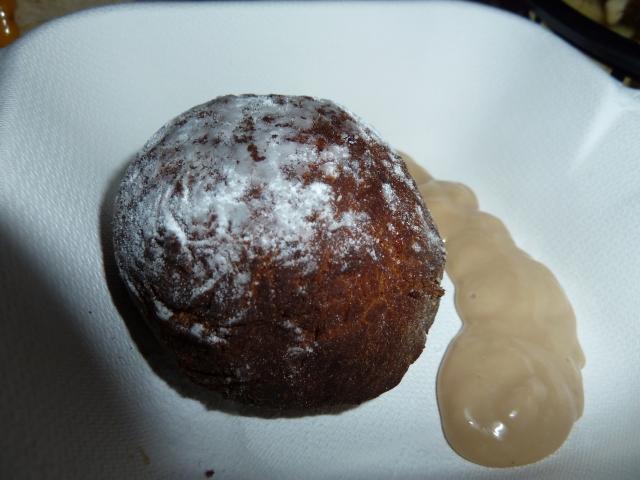 Oxtail doughnut