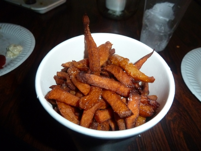 Sweet Potato Fries imported directly from Sweet Potato Heaven