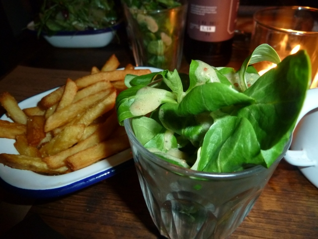 """Salad"" and chips"