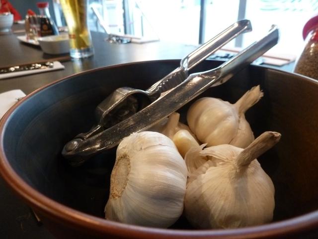 Shoryu is a garlic lover's heaven...