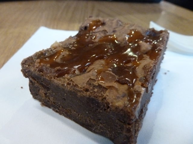 The Fudgepacker - vanilla fudge and salted caramel.  Life doesn't get any better.