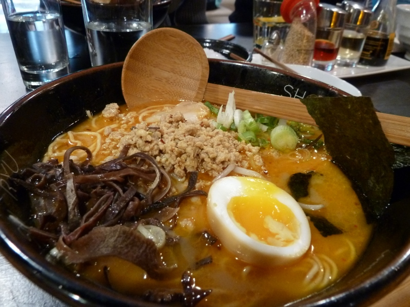Karaka Tantan Tonkotsu - spicy but addictive!