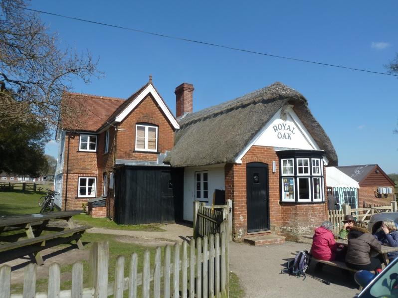 The Royal Oak - now that's an English pub!