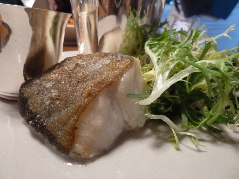 Roast Cod with Béarnaise Sauce