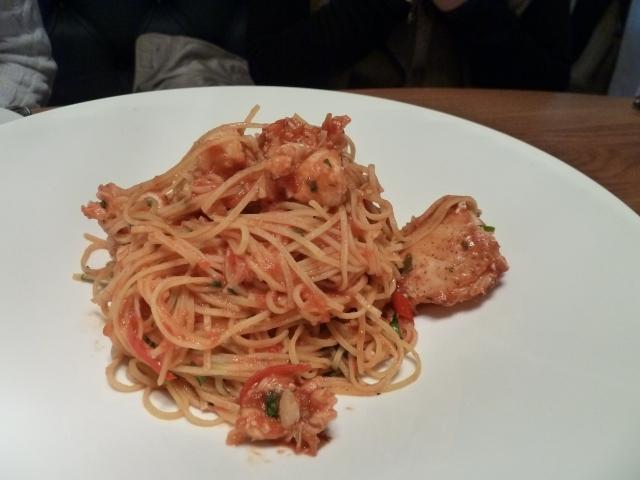 Taglierini pasta with Half Lobster