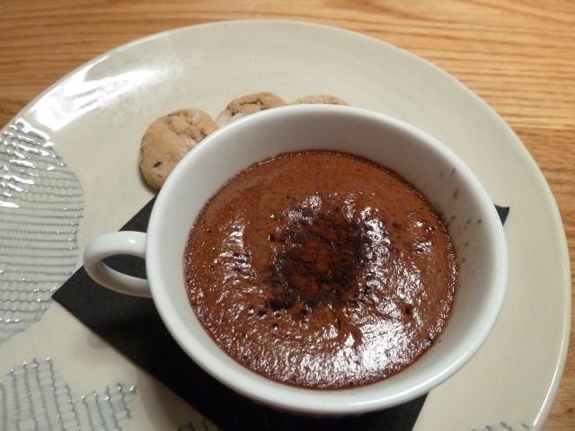 Warm Valrhona Chocolate Pot