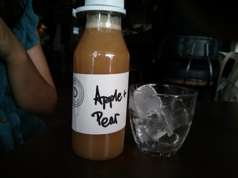 Apple and Pear Juice (£4.00)