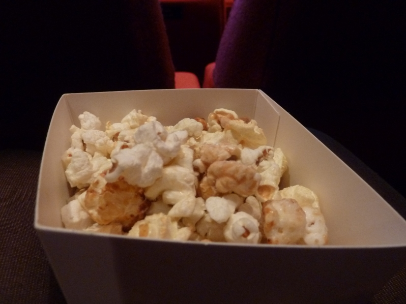 Popcorn - with the occasional hint of wasabi