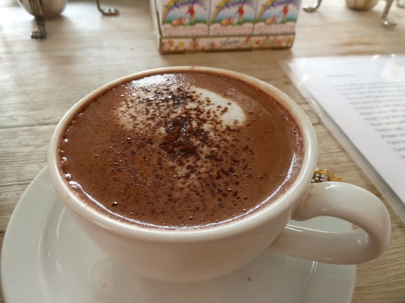 The most expensive hot chocolate in London <3