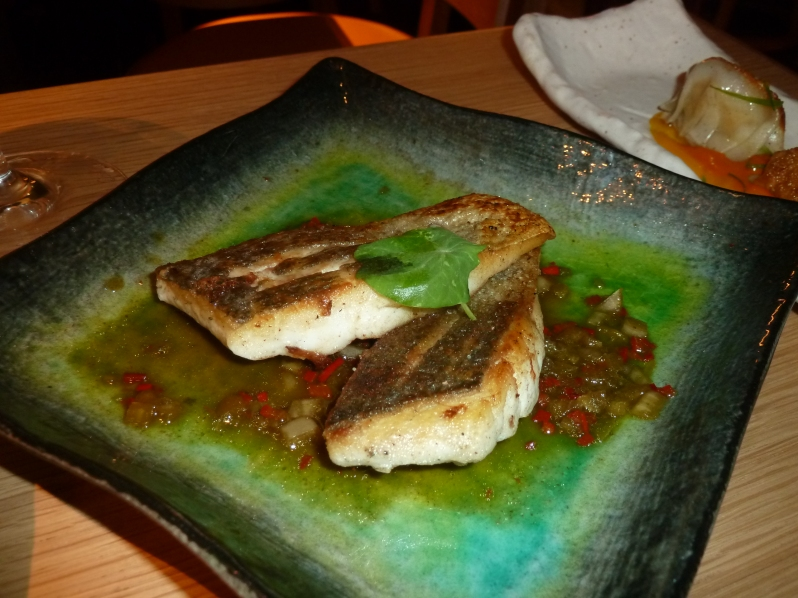 The star: seabass deliciousness