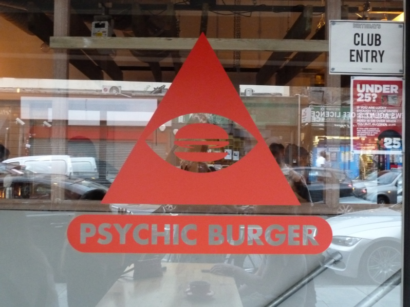Psychic Burger foresees good, burgery times ahead
