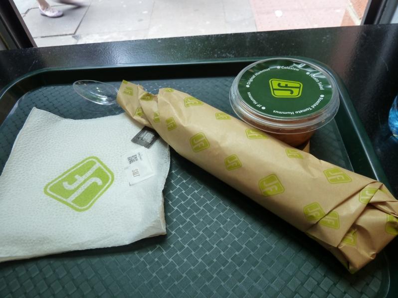 Fast food falafel!