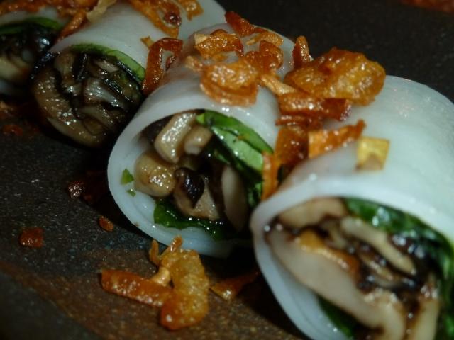 Pho Cuon Wild Mushroom