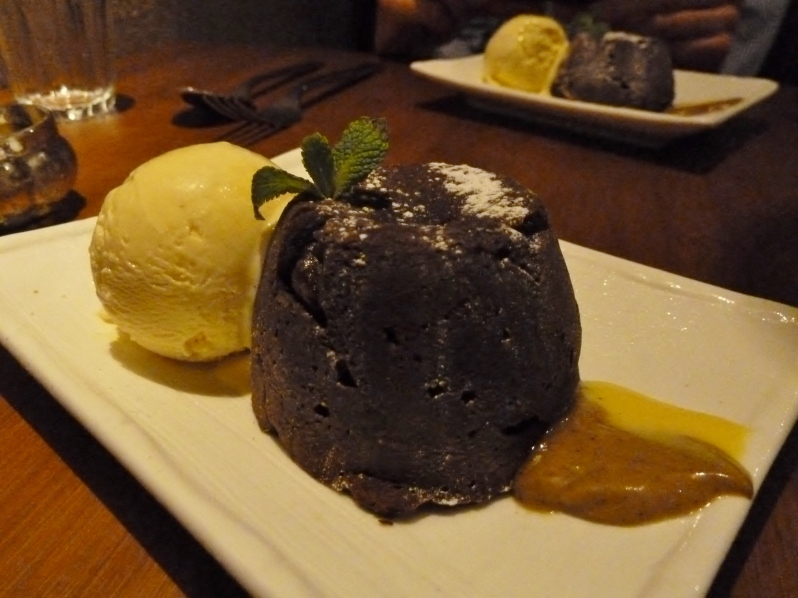 Molton Marou Chocolate Cake
