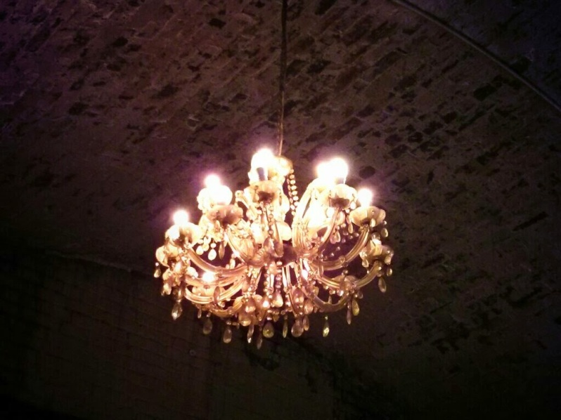 Chandeliers and railway arches