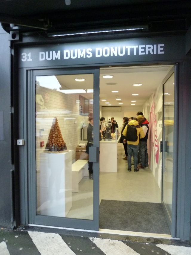 Dum Dums Donutterie at Shoreditch Boxpark