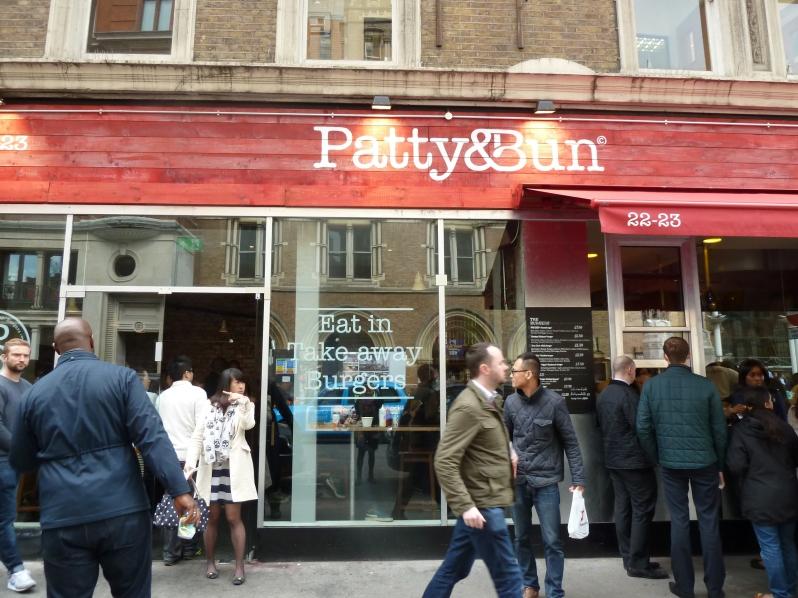Patty & Bun Liverpool Street... looks a lot like P&B James Street