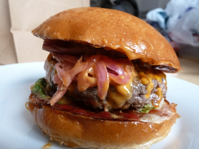 Ari Gold Cheeseburger - has to be one of the prettiest burgers out there