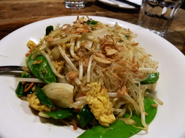 Vermicelli noodles - vegetarians take note!