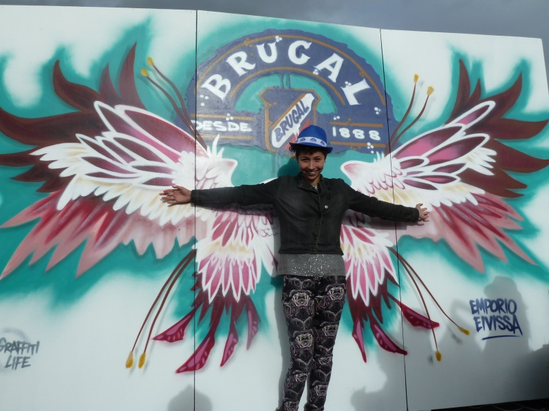I am the Brugal Rum Angel