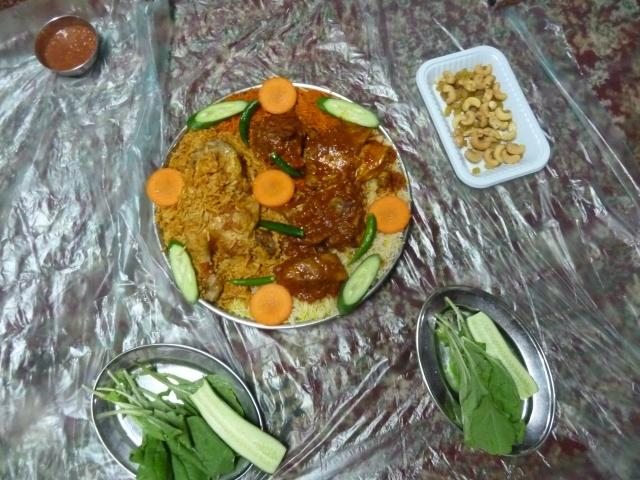 Emirati feast