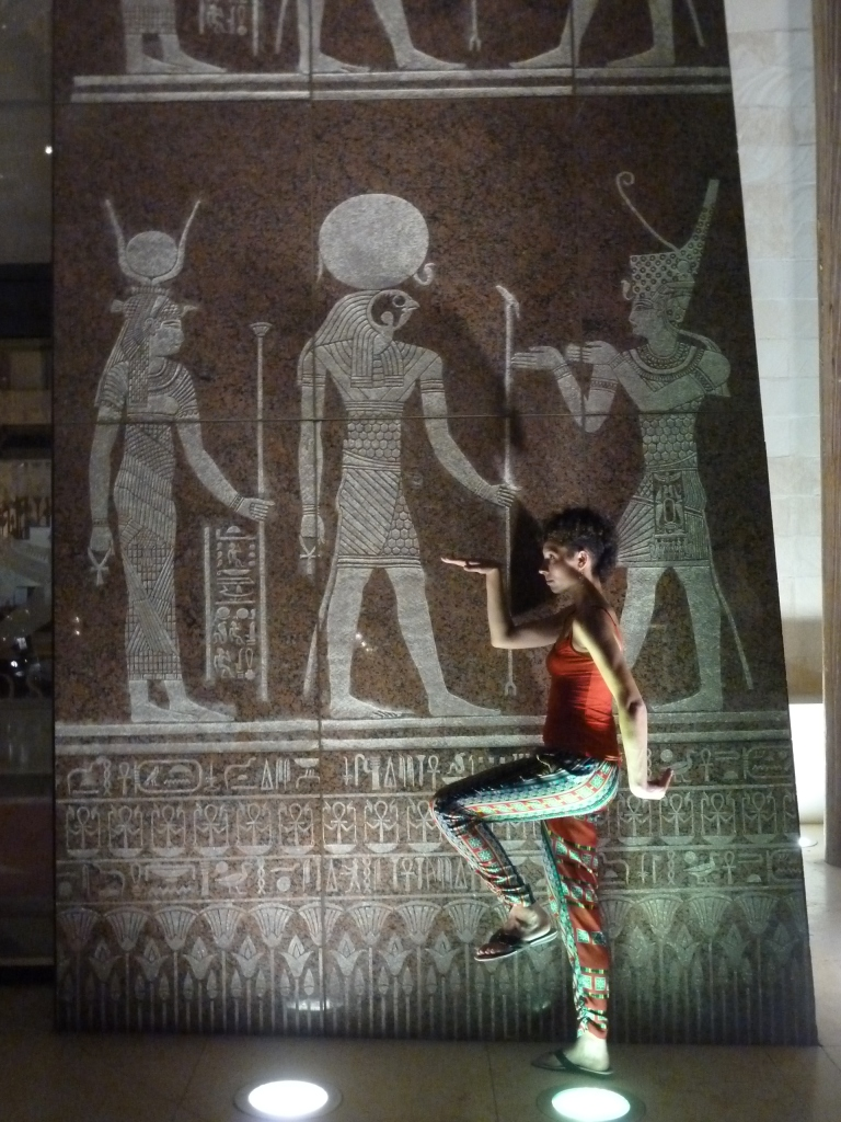 Walking like an Egyptian