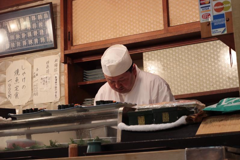 Sushi chef