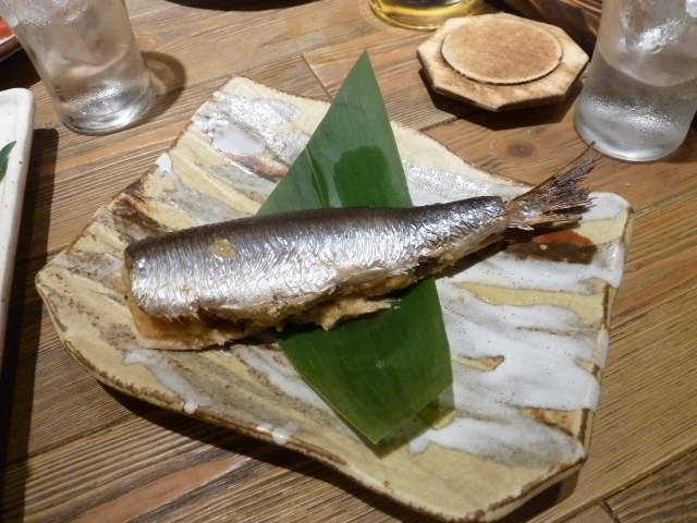 Grilled fish - just in case you were wondering if this really Japan