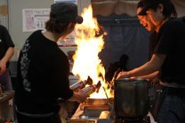 Fiery ramen