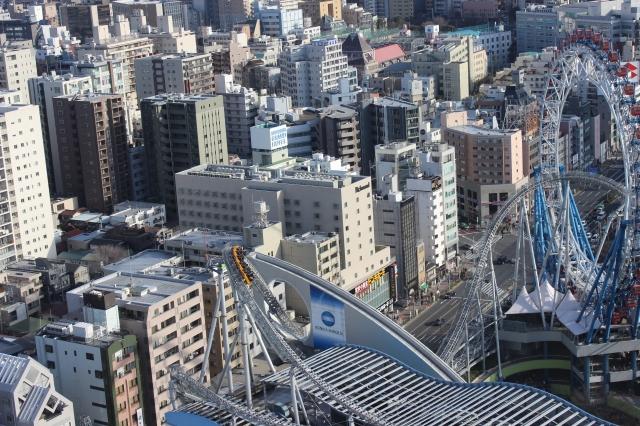 Rooftop rollercoaster