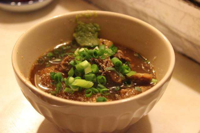 Gyu-suji / beef stew