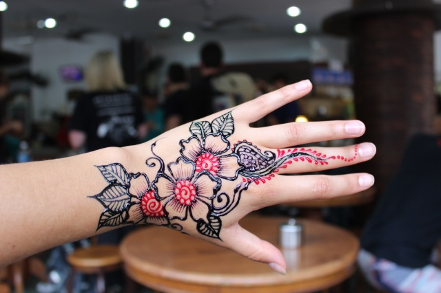 Henna - just drying!