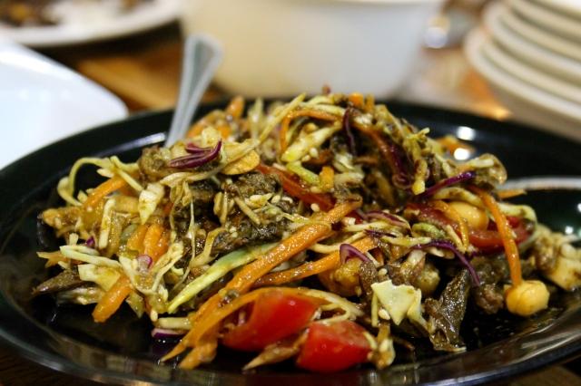 Lahpet AKA fermented tea leaf salad!