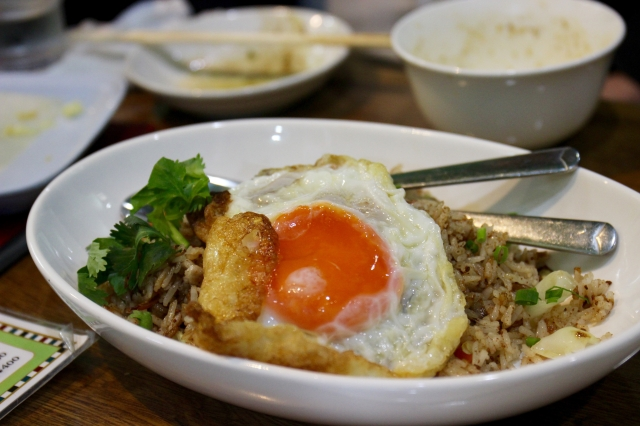 Shan-style fried rice